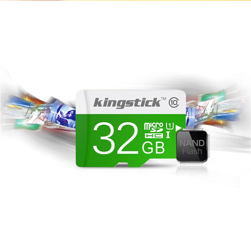 Kingstick Memory Card 32GB 16GB micro sd card Class10 100% True Capacity Mini TF Card 4GB 8GB 64GB sdcard(China (Mainland))