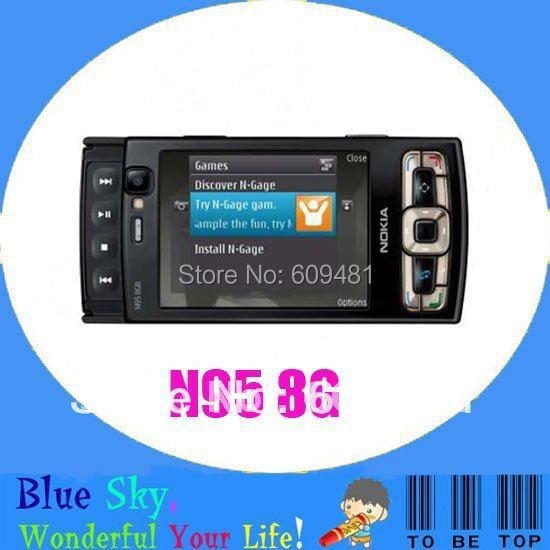 Unlocekd Original NOKIA N95 8G mobile phone 5.0MP Camera GPS WIFI 3G Phone Free shipping(China (Mainland))