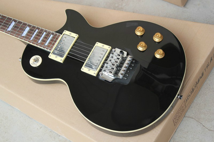 Free shipping! LP thin body electric guitar,tremolo guitar,humbuck pickup,(China (Mainland))