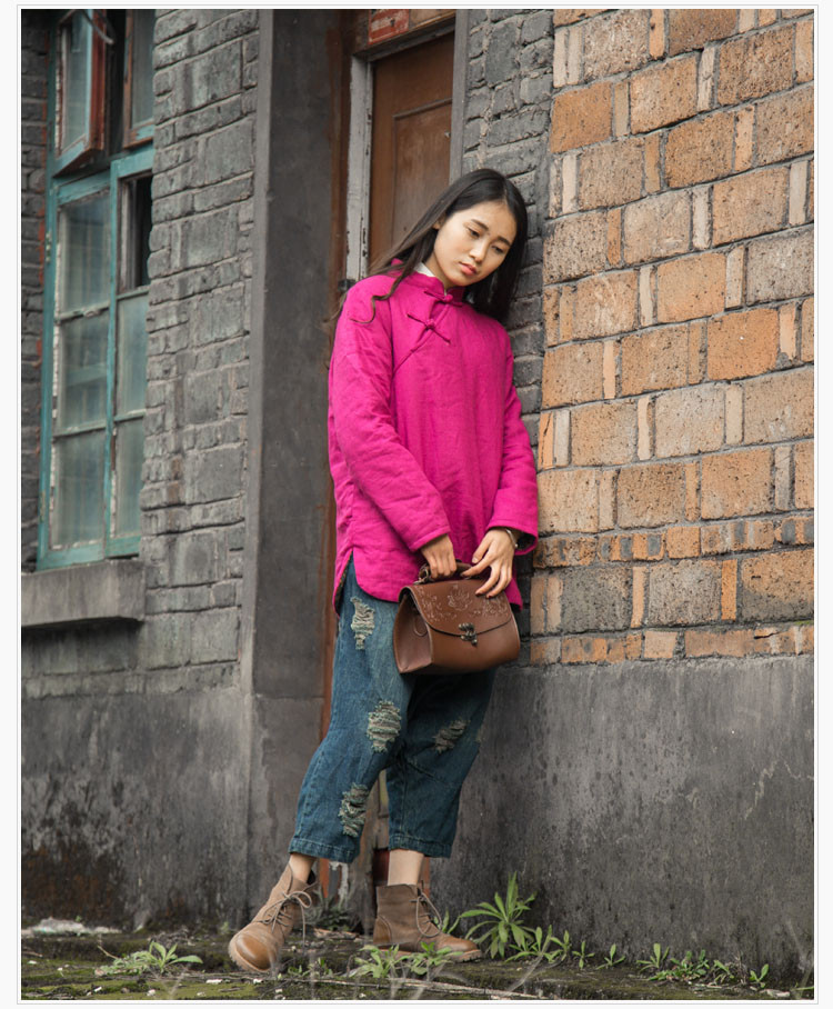 Chinese style Winter and Autumn Wear High Quality Women Parkas Winter Jackets Outwear Women Coat