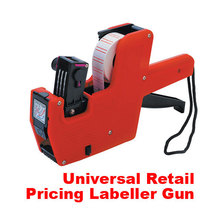 T2N2 New Price Label Tag Marker Pricing Gun Labeller J(China (Mainland))