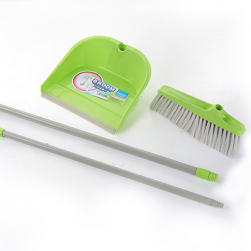 Hot explosion models clean broom clean dustpan combination suit indoor soft hair broom Wholesale long-term supply(China (Mainland))