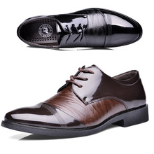 New Style Oxford Shoes For Men Dress Shoes Leather Office men Flats Shoes  Height  Increasing Zapatos Hombre(China (Mainland))