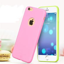 I5030 New Arrival case for iphone 5! Candy colors Soft TPU Silicon phone cases for iphone 5S Coque with logo window Accessories