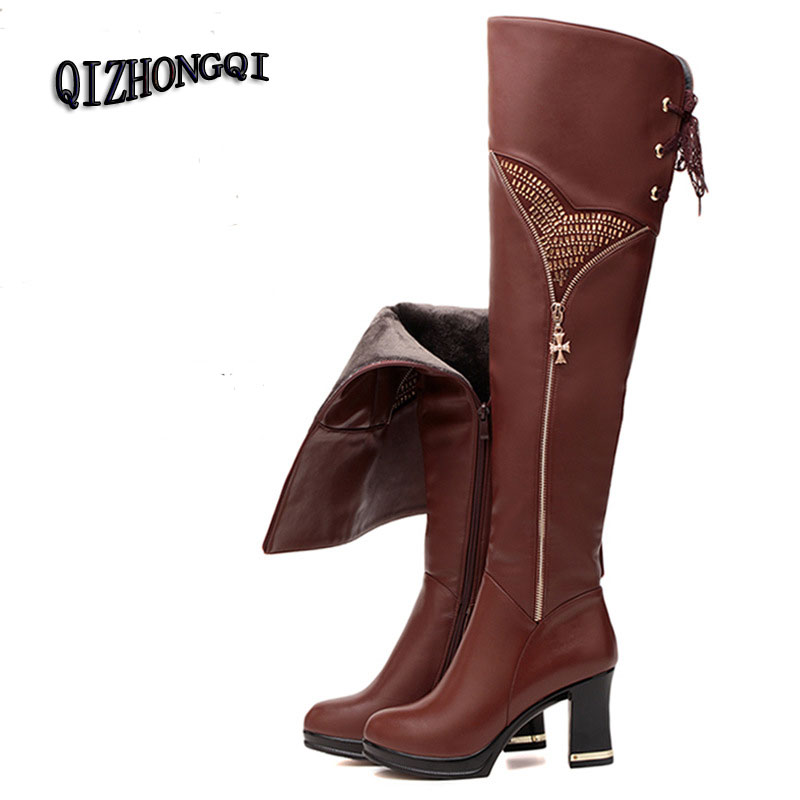 crotch high leather boots for promotion shop for