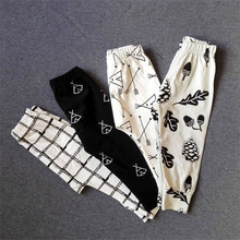 Spring&Autumn PP Baby Leggings Baby Harem Pants Cotton Character Baby Trousers Newborn Kids Boy Girl Clothing