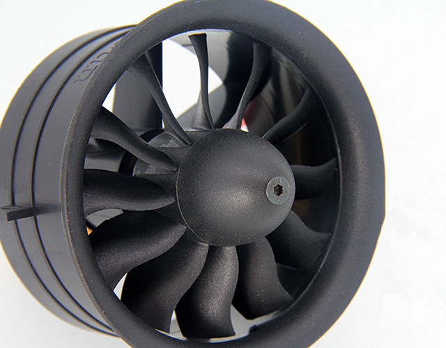 64mm Ducted Fan Set 12 Blades Electric Edf With 4s Motor