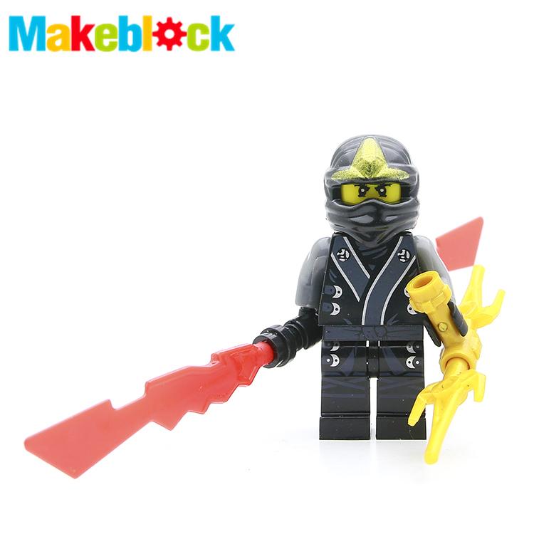 SingleSale Zane with Blade Phantom Ninja Masters of Spinjitzu Assemble Minifigures Building Blocks Children Learning Toys Gift(China (Mainland))