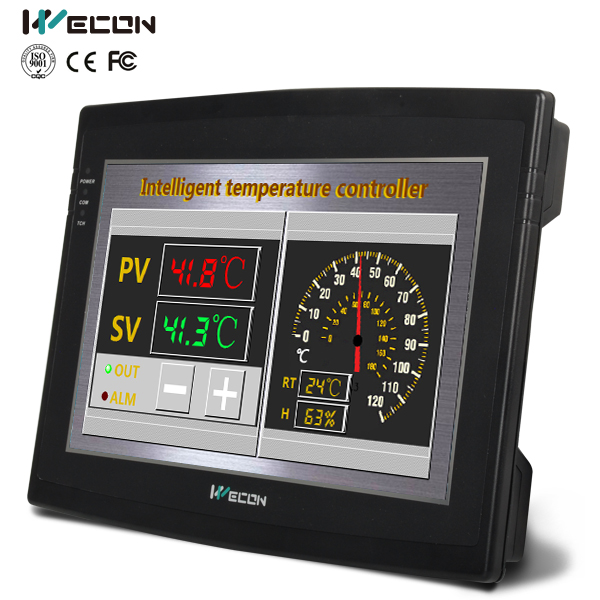 Wecon custom logo hmi WK102E built-in scada without case supported(China (Mainland))