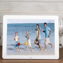 "Digital photo frame 12"" Full-view HD porta retrato electronic Alarm Clock Slide MP3/MP4 Video Movie Player porta fotos digital"