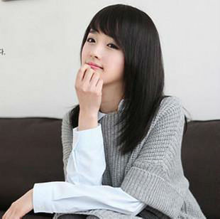 Simulation of hair wig hair new female oblique bangs the whole wig in the long hair pear head Bobo hair wig(China (Mainland))