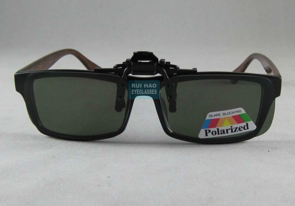 Eyeglass Frames Flip Up Sunglasses : Brand Sunglasses Clipon Flip up Polarized Driving Glasses ...