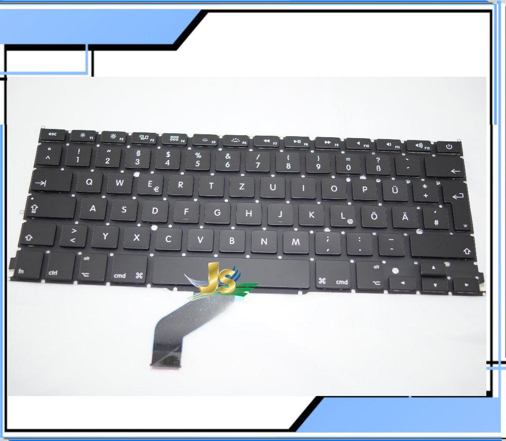 New Original Laptop GR DE German Keyboard for MacBook Pro Retina 13 A1425 GR DE German Keyboard 2012year<br><br>Aliexpress