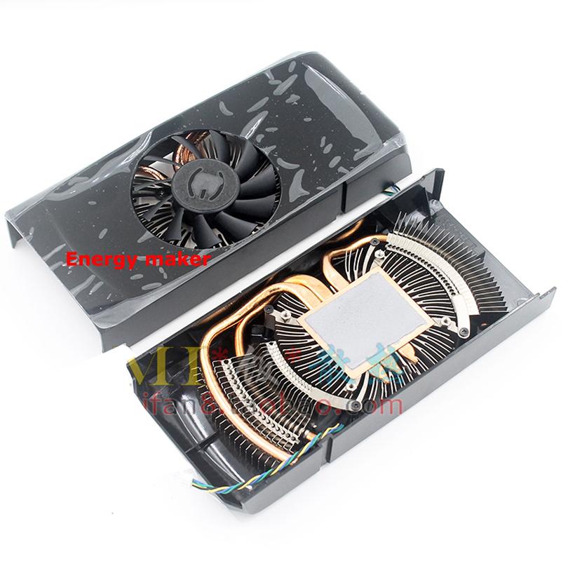 10 pcs/lot Computer PC Cooler Radiator Wtih Heatsink For NVIDIA GTX560 GTX 560Ti Graphics VGA Card Cooling(China (Mainland))