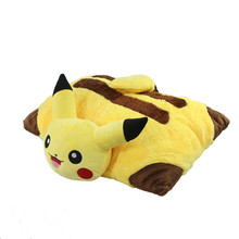 Buy Kawaii Pikachu Plush Toys 40cm Pikachu Plush Pillow Sleep Cushion Soft Stuffed Animal Doll Kids Toys Birthday Gift for $13.29 in AliExpress store