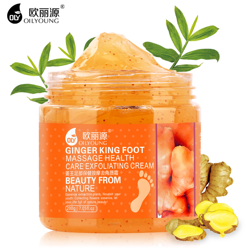 Exfoliating Repairing Ginger Foot Cream Massage Whitening Moisturizing Antiperspirant Antibacterial Skin Care Beauty Feet Creams(China (Mainland))