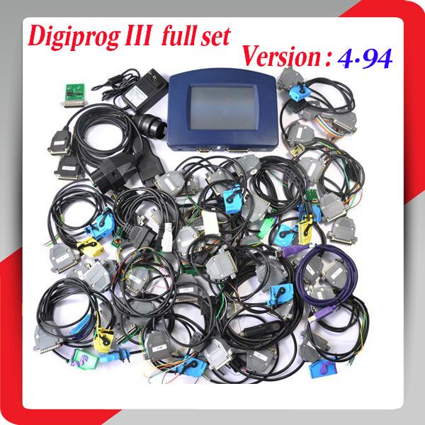 2015 Newest Digiprog 3 V4.94 Odometer Programmer professional Digiprog III mileage Correction tool DHL free shipping(China (Mainland))