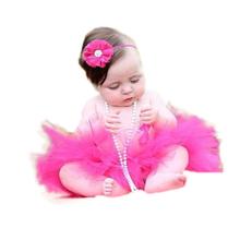 Skirt + headband /set Cute Newborn Infant Baby Tutu Baby for Photo Prop Pink White Ivory Aqua Fluffy Tulle Tutu skirts gifts(China (Mainland))
