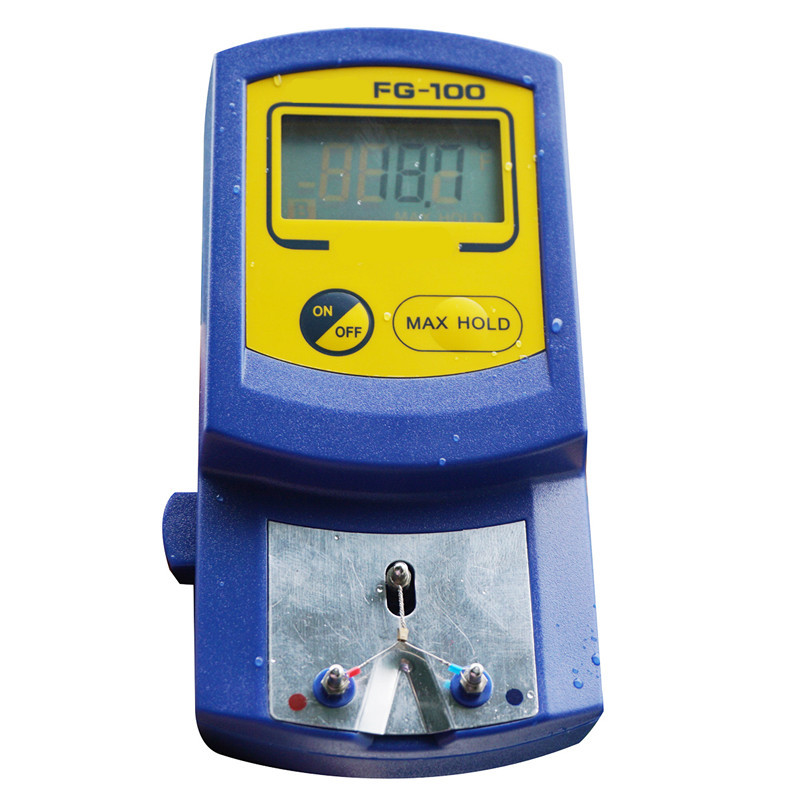 LCD display Welding Soldering Iron Tip Thermometer Temperature Tester Probes(China (Mainland))