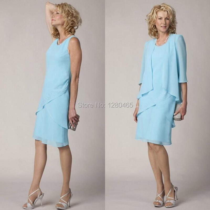 Plus Size Mid Length Evening Dresses Purple Graduation Dresses