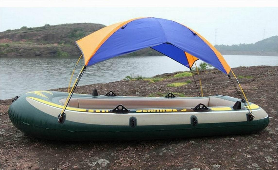 надувные лодки с палатками