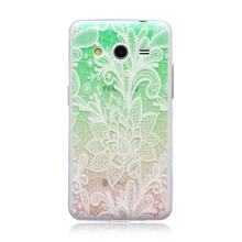 For Samsung Galaxy Core 2 G355H Ultra Thin Case Fashion Embossed Painting Patterned Slim Soft Silicone TPU Phone Case Cover