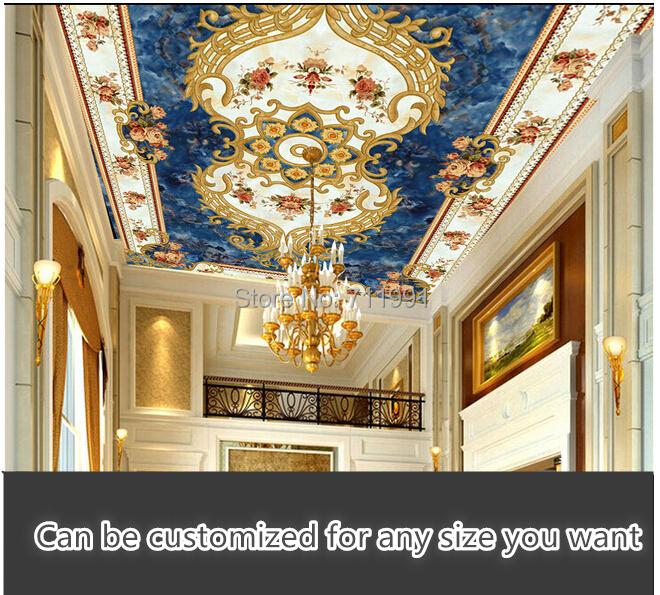 Ceiling Mural Wallpaper Of Buy Custom 3d Wallpaper Mural Wallpaper