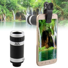 Buy 2016 Hot sale 8X Zoom Optical Lens Telescope Camera Mobile Smart Cell Phone 8x lens Iphone5 5s 6 6s/Huawei/Samsung S5 S6 for $8.49 in AliExpress store
