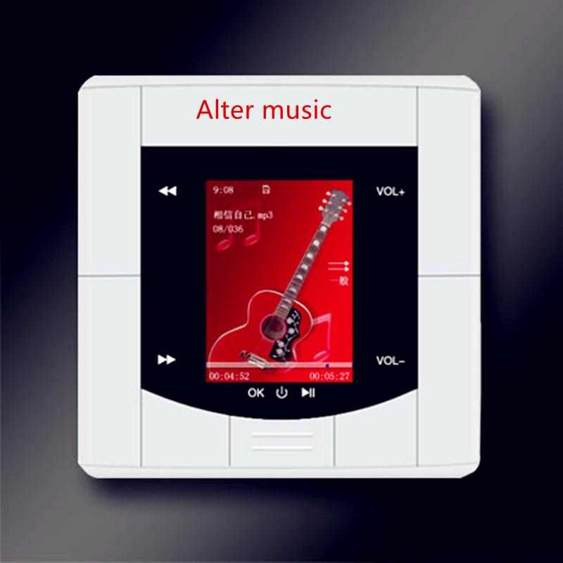 Nueva Home Theater 5.1 Music System 86 Panel de montaje en pared amplificador Home Cinema Audio reproductor de 110 - 220 V / USB / Bluetooth altavoz del techo(China (Mainland))