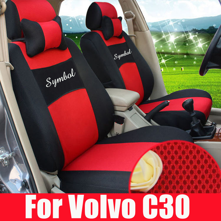 Custom Car Seat Cushion For Volvo C30 Seats Covers Interior Accessories Sets Sandwich Car