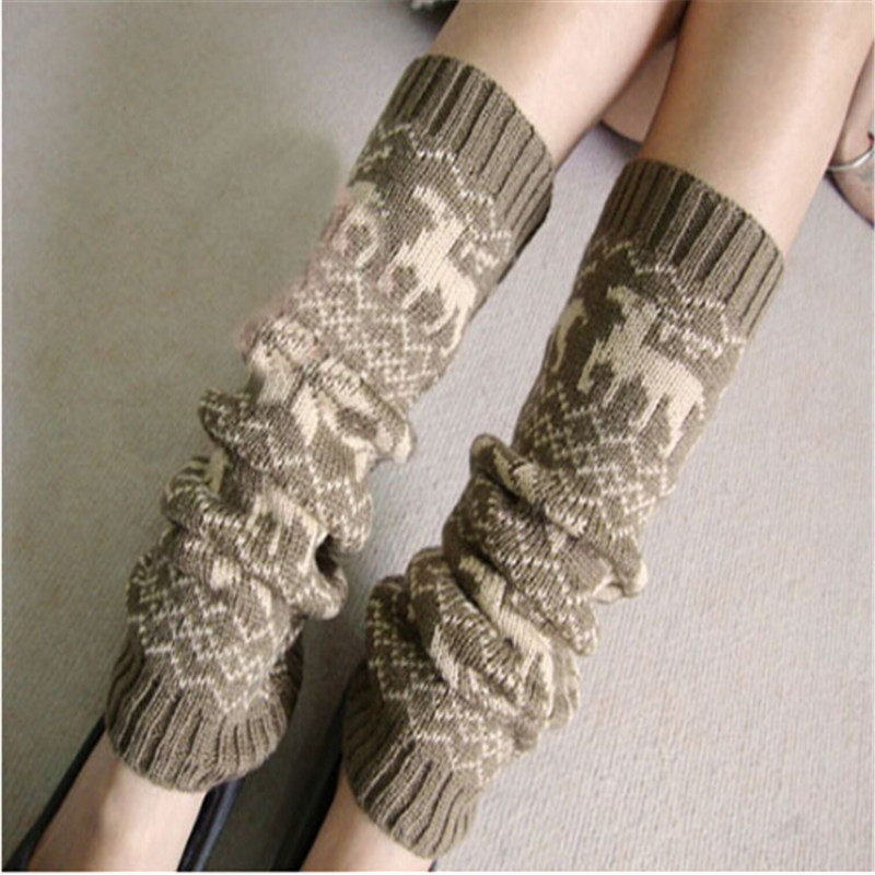 Women Promotion Clothing Winter Knit Polyester Floral Leggings Crochet Cotton Blends Legging Ladies - Yiwu Ino E-Commerce Co., Ltd. store
