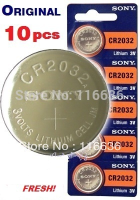 10pcs High Capacity CR2032 BR2032 CR2332 BR2332 L14 cr2032 3v lithium battery Cell Button Card Toys Batteries wholesale LOT 2032