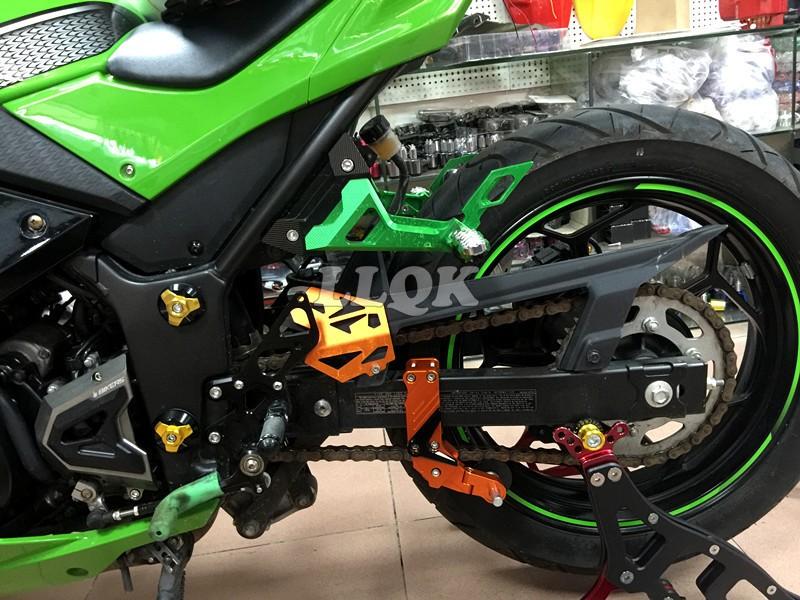 Купить ЧПУ, Автоматические Сплава Регулируемый Преобразования Мотоцикл Натяжителя Цепи Универсальный (анти-из цепи) Для Street Bike ATV Motocross