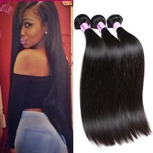 6A Peruvian Virgin Hair Straight 3 Bundles Human Hair Weave Cheap Peruvian Virgin Hair Natural 8-30 Inch Rosa Hair Products