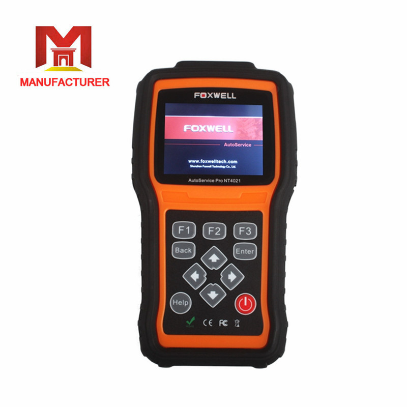 2016 New Arrival Foxwell NT4021 AutoService Tool including Oil Light Reset/EPB Service/Battery Configuration Free Shipping(China (Mainland))