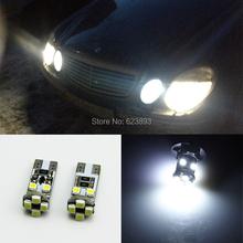 2x T10 Car Led 501 W5W White Canbus errors Parking Light Bulbs Mercedes Benz C250 C300 E350 E550 ML550 R320 R350 - teqin chen's store