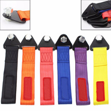 SO tow strap Universal High Quality Racing car tow strap/tow ropes/Hook/Towing Bars (red blue purple orange black yellow)(China (Mainland))