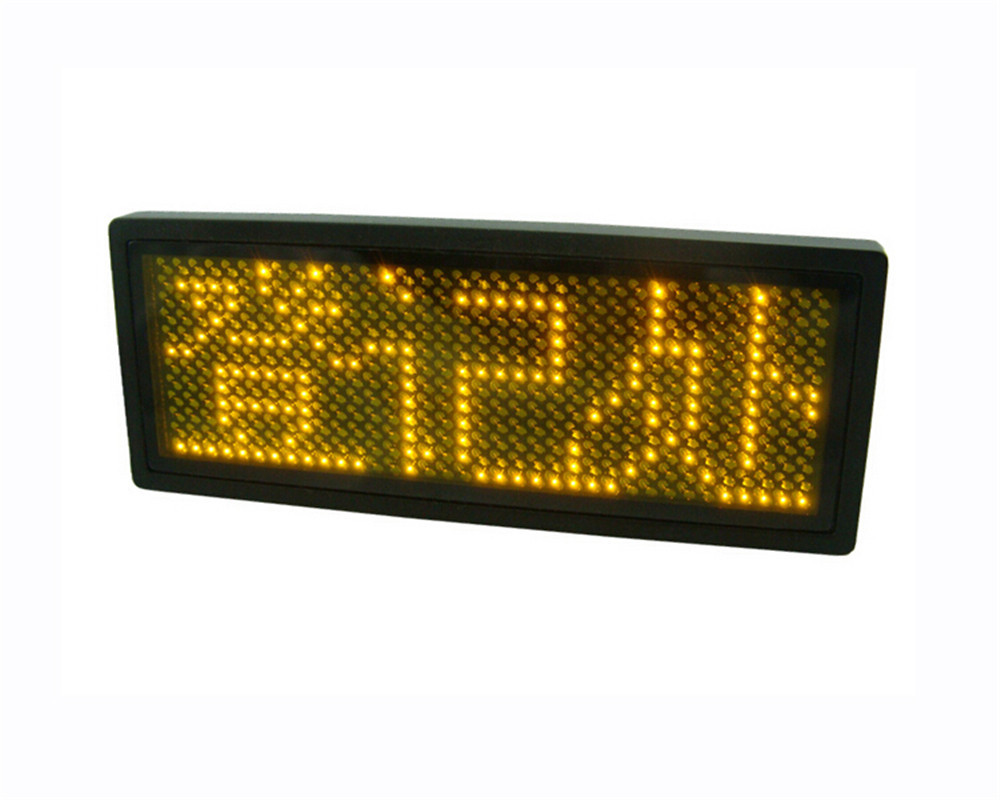 High Quality Character LCD Module Display Yellow Serial,Automotive displays Free Shipping(China (Mainland))