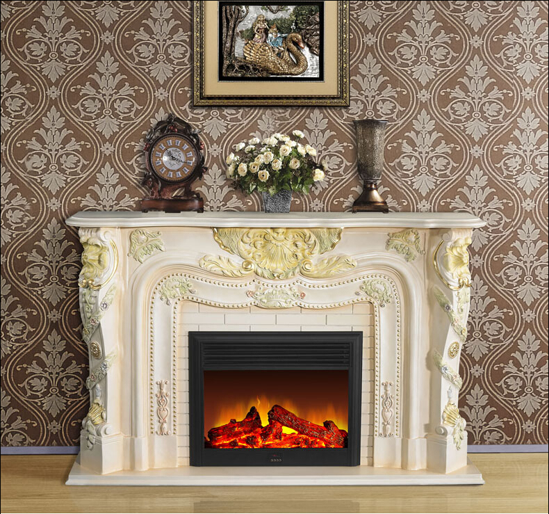 73 39 39 47 39 39 Electric Flame French Style Fireplace Insert