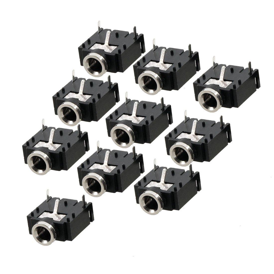 Гаджет  2015 Hot And New10 Pcs 3 Pin PCB Mount Female 3.5mm Stereo Jack Socket Connector None Электротехническое оборудование и материалы