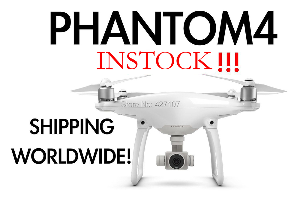 Free Shipping DJI Phantom 4 Quadcopter + Hardshell Backpack Bag + HDMI+Charging Hub+More Via EMS