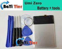 Umi Zero Battery 100% 2700mAH Battery Replacement for Umi Zero Smartphone In Stock Free Shipping +  Tools(China (Mainland))