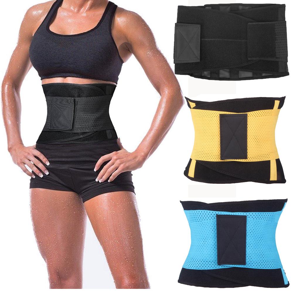 waist trainer Slimming Underwear waist training corsets hot shapers body shaper women belt Shapewear Black/Blue/Yellow(China (Mainland))