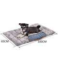 PAWZ Road Travel Essential Foldable Dog Mats Soft Pet Cushion Convenience Carry Pet Puppy Bed Warm