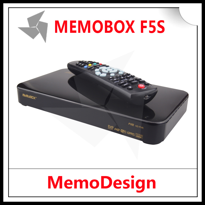 2pcs Original MEMOBOX F5S / SKYBOX F5S HD Satellite Reciever DVB-S2 with PVR Supported CCcam NEWcam Youtube(China (Mainland))