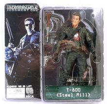 "Buy Free NECA Terminator 2 Action Figure T-800 T-800 Steel Mill PVC Figure Toy 7""18cm Model Toy #ZJZ005 for $14.27 in AliExpress store"
