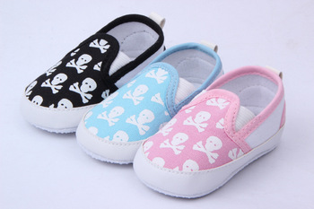 Baby Skull Animal Skull Print Shoes Baby Shoes Casual Shoes WX047