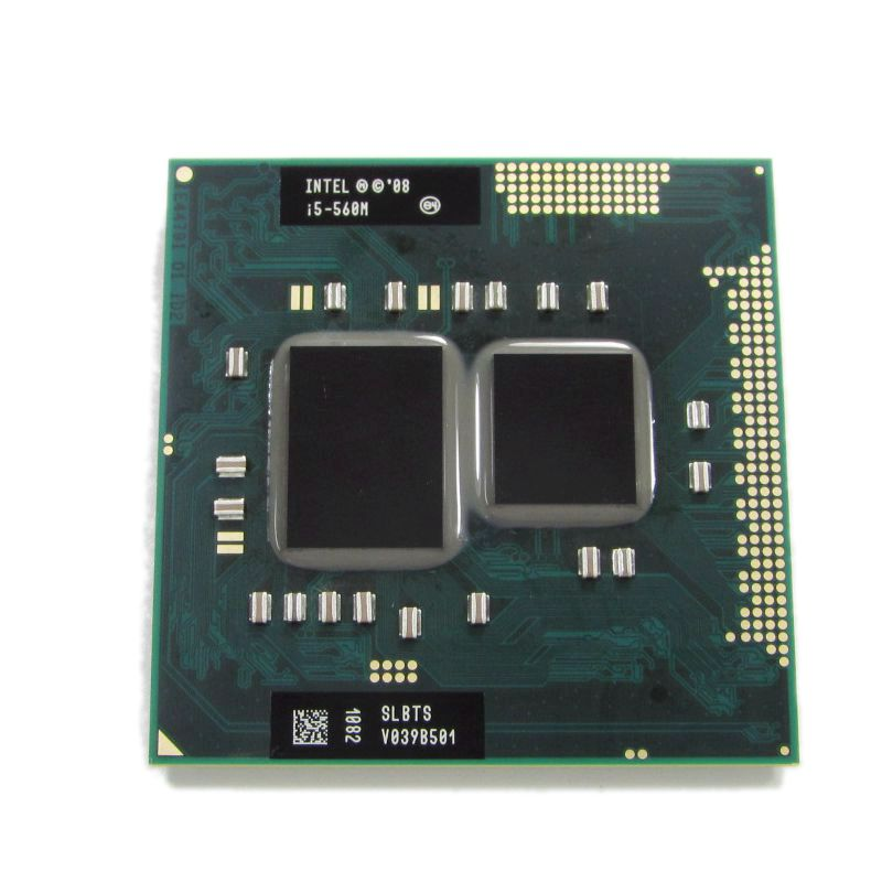 Original Intel Core i5 560M 2.66 GHz Dual-Core Processor PGA988 SLBTS Mobile CPU(China (Mainland))