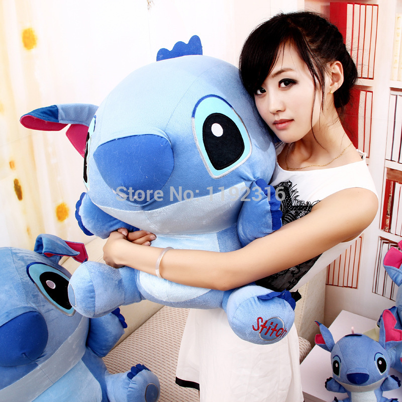 Large 30cm plush toy doll cute doll Lilo Stitch Stitch birthday gifts Christmas gifts for children(China (Mainland))