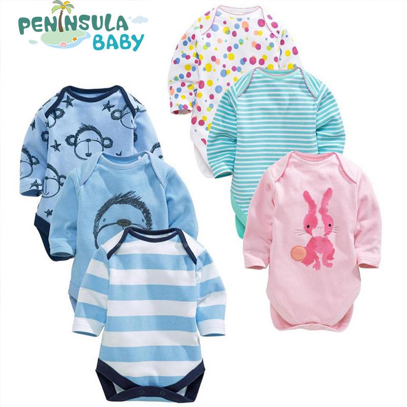 100% Cotton Body Bodysuits Bebe Long Sleeve Clothing Similar Carters Newborn Infant Jumpsuit Printed Baby Boy Girl Bodysuits(China (Mainland))